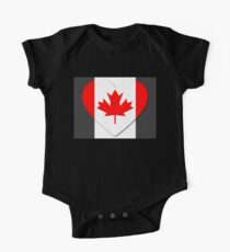Canada Flag T-shirt Kids Clothes