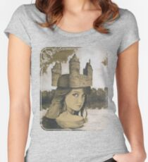 Lady of the Lake Women's Fitted Scoop T-Shirt
