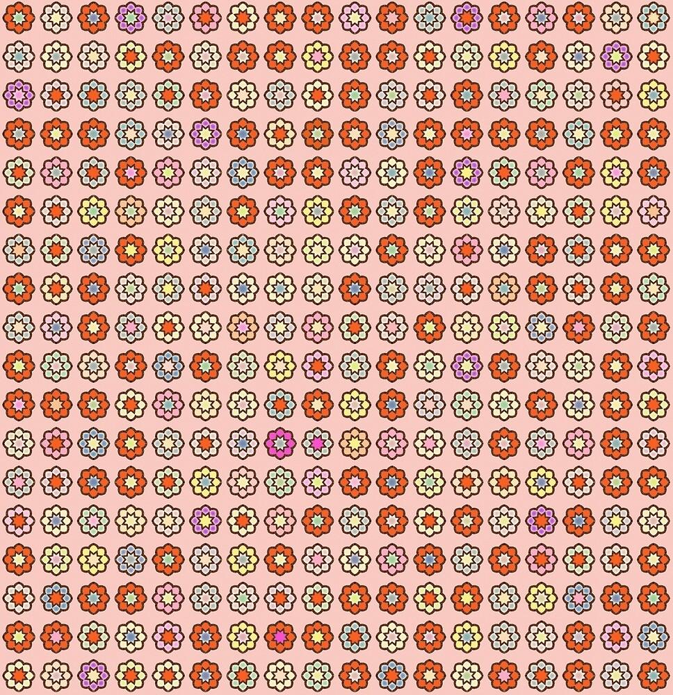 """Image De Parterre De Fleurs parterre de fleurs, fond vieux rose, hippie style"""""""