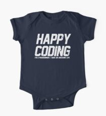 Programmer : Happy Coding Kids Clothes