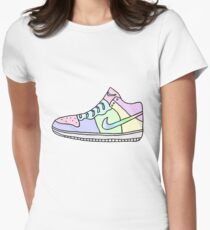 sneaker Women's Fitted T-Shirt