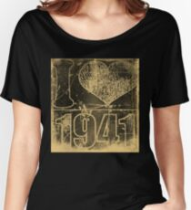 I love 1941 - Vintage t-shirt Women's Relaxed Fit T-Shirt