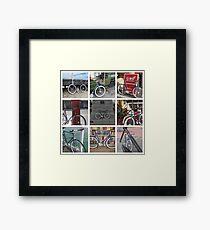 Fixie Fixation Framed Print