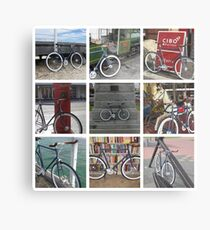 Fixie Fixation Metal Print