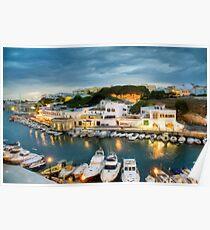 Ciutadella Port 3 Poster
