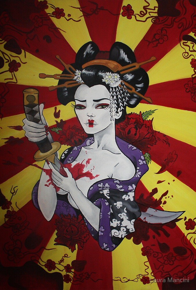 Geisha's Sacrifice by Laura Mancini