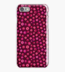 Red Pomegranate Pattern iPhone Case/Skin