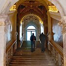 Golden Staircase by almaalice