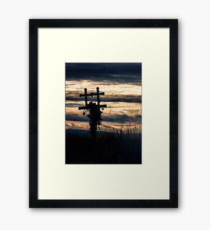 Love Lost Framed Print