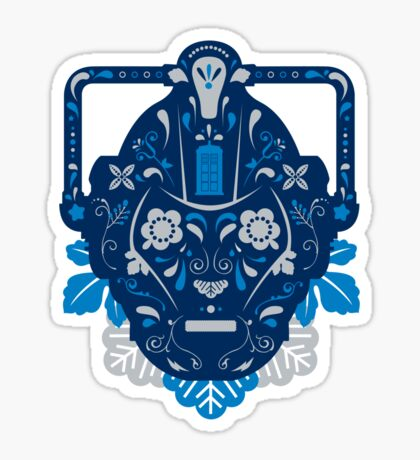 Sugar Cybermen Sticker