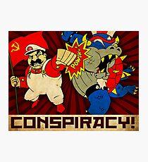 Stalin Is Mario! Photographic Print