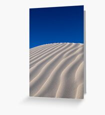 Another Dune - in Colour Greeting Card