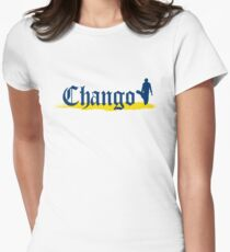 Chango Beer Logo Only Womens Fitted T-Shirt
