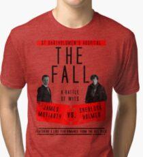 James Moriarty vs. Sherlock Holmes Tri-blend T-Shirt