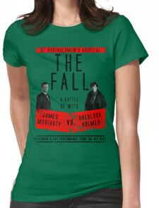 James Moriarty vs. Sherlock Holmes Womens Fitted T-Shirt