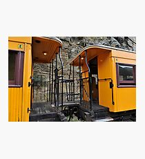 Railway Carriages Photographic Print