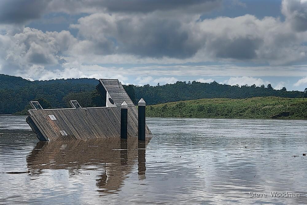 Wingham Brush flood aftermath by Steve  Woodman