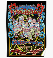Fraggles - return to the rock tour poster Poster