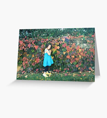 the eternal girl in my heart Greeting Card