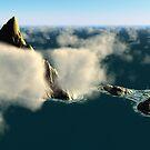 Sharkfin Island  by Hugh Fathers