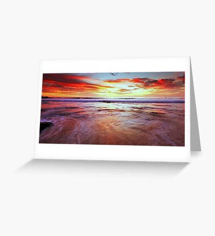 A Surfers' Moment Greeting Card