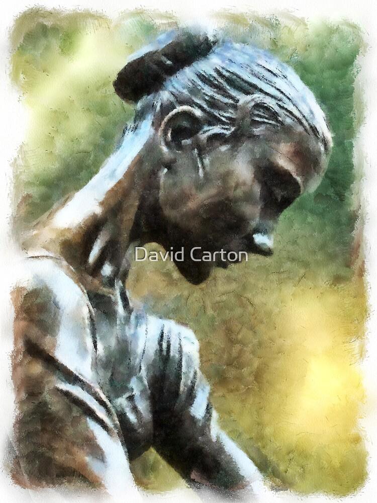 Young Dancer by David Carton