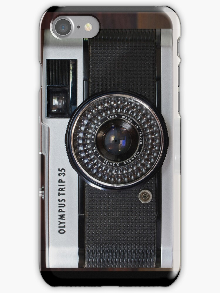 Olympus Trip 35 (iphone case) by Peter Denniston