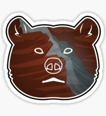 River Bear Sticker