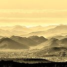 Golden Hills Of The Tonto by Mike Herdering
