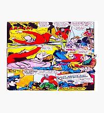 Comic cartoon Photographic Print