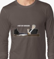 Not My Division - DI Lestrade (white text) Long Sleeve T-Shirt
