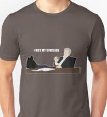 Not My Division - DI Lestrade (white text) T-Shirt