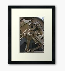 parts of a old canon Framed Print