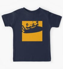 Fiat 600 Detail, 1956 - Yellow on Black Kids Clothes