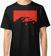 Saab 900, 1990 - Red on charcoal Classic T-Shirt