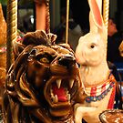 The Lion, The Hare, and the Ostrich by shutterbug2010