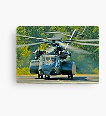 Big US NAVY chopper Canvas Print