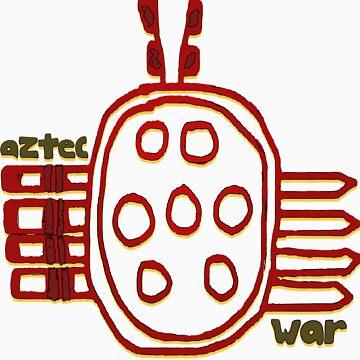 Aztec War Symbol by ginnyl52