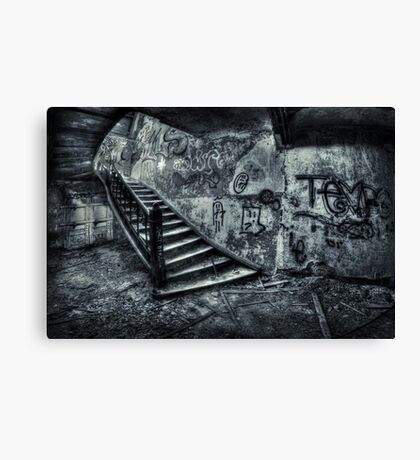Line Of Descent Canvas Print