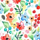 Flourish - Watercolor Floral by Tangerine-Tane