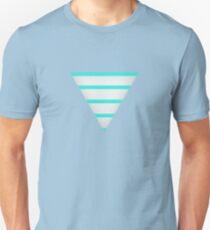 "Striped ""Shima"" Triangle T-Shirt"