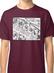 Who's Who Bugs Classic T-Shirt