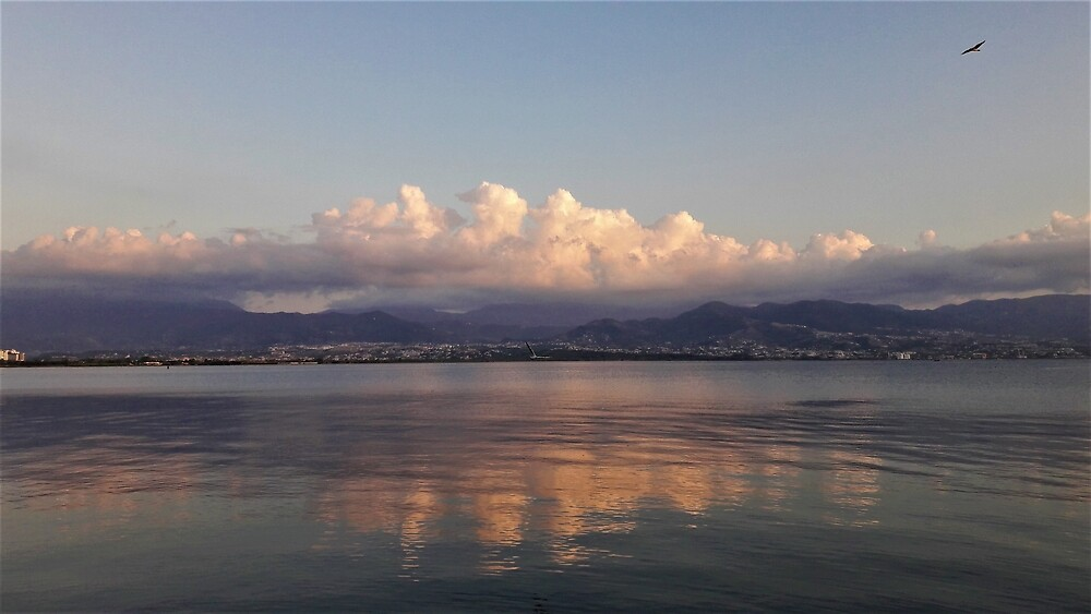 Evening Clouds over the Marmara by tomeoftrovius