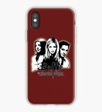 A Trio of Scoobies (Willow, Buffy & Xander) iPhone Case