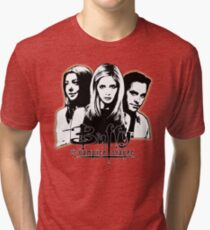 A Trio of Scoobies (Willow, Buffy & Xander) Tri-blend T-Shirt