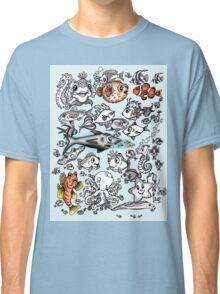 Cartoon Fishies Classic T-Shirt