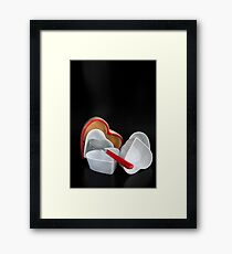 Passionated 4 Tableware Framed Print