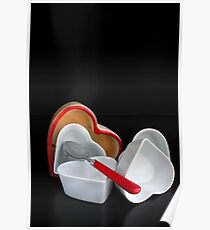 Passionated 4 Tableware Poster
