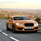 The new V8 Bentley Continental GT by M-Pics