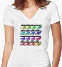 VW Spectrum Women's Fitted V-Neck T-Shirt